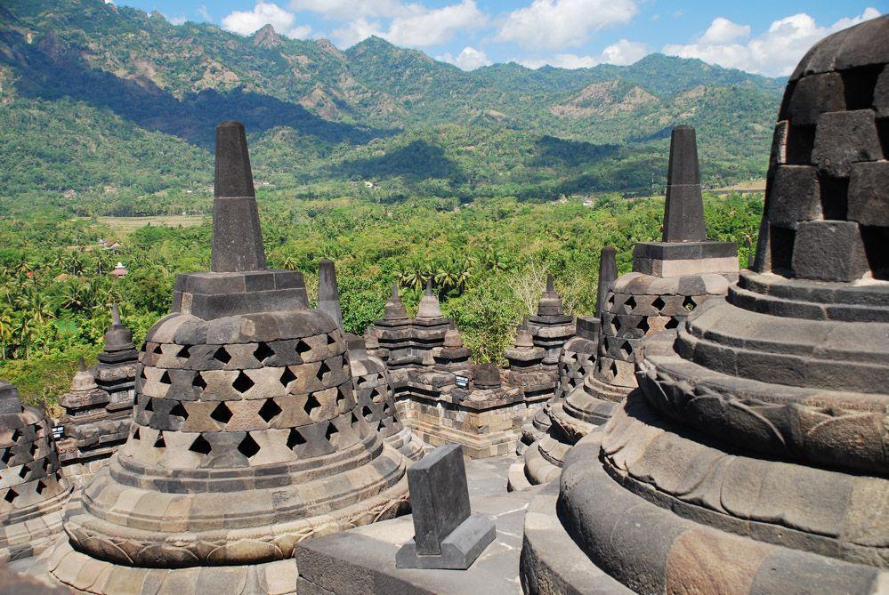 Jardín-Java-vistas-Borobudur
