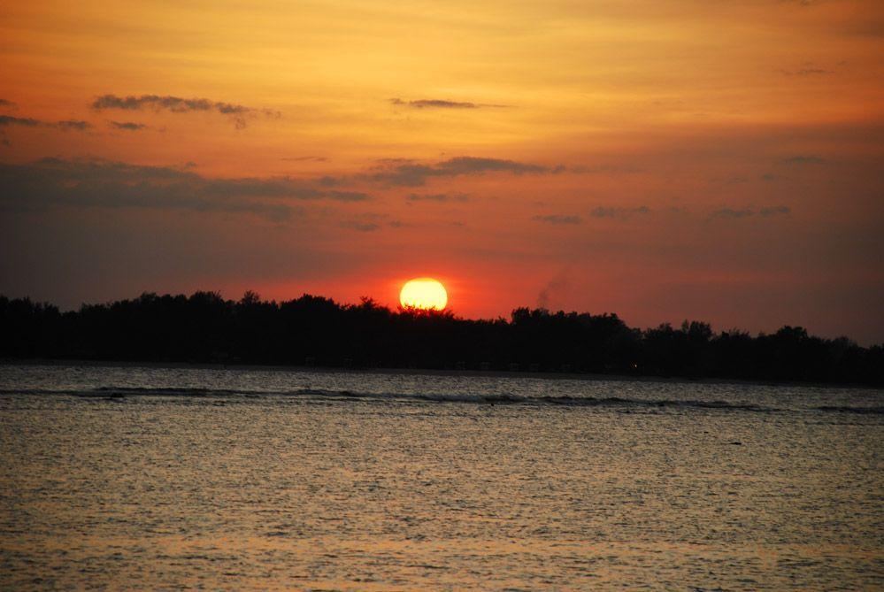 Sunset-en-las-Islas-Gili-Indonesia