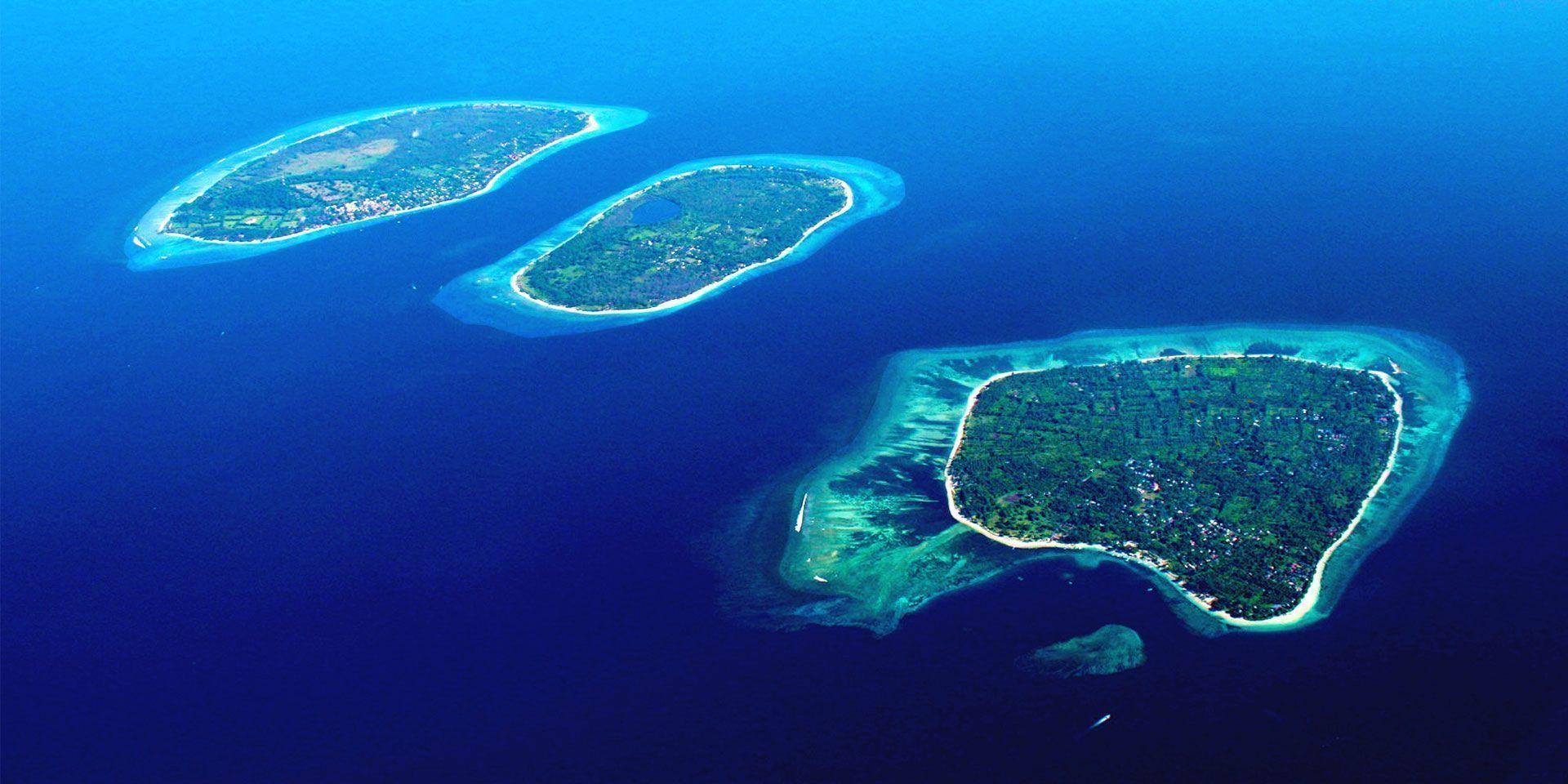 Las Islas Gili en Indonesia