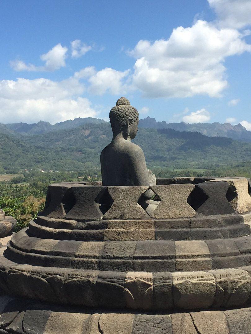 El templo budista de Borobudur