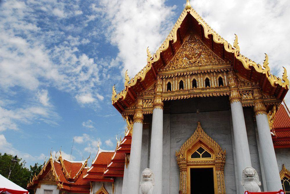 templo-mármol-Bangkok