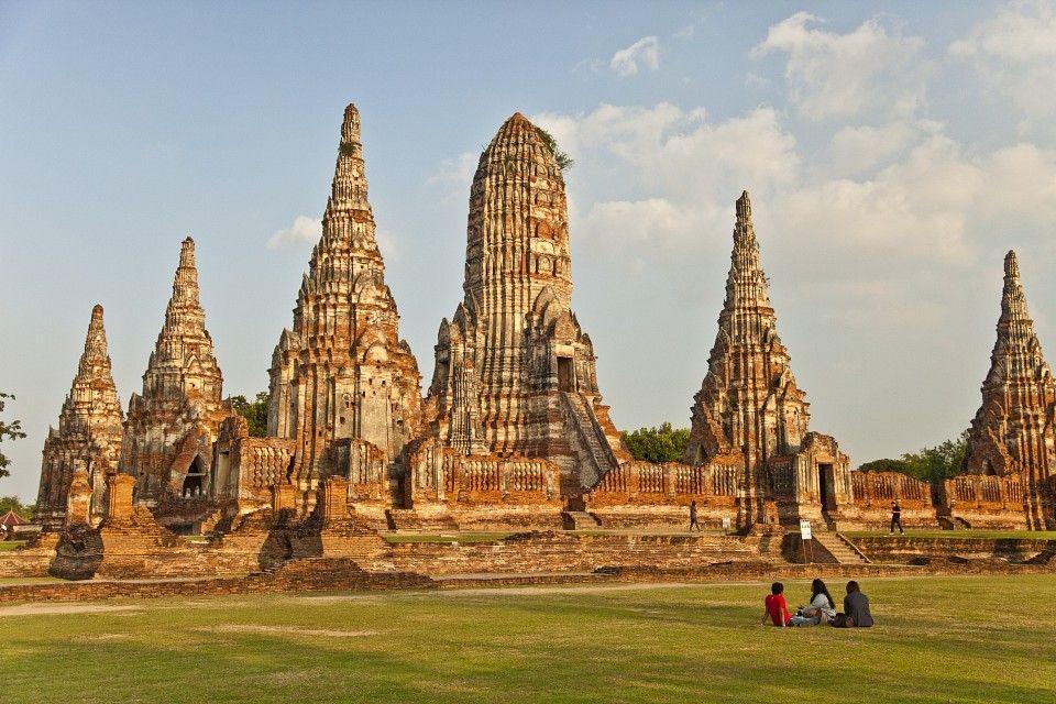 Wat-Chaiwatthanaram-Monumentos-Ayutthaya