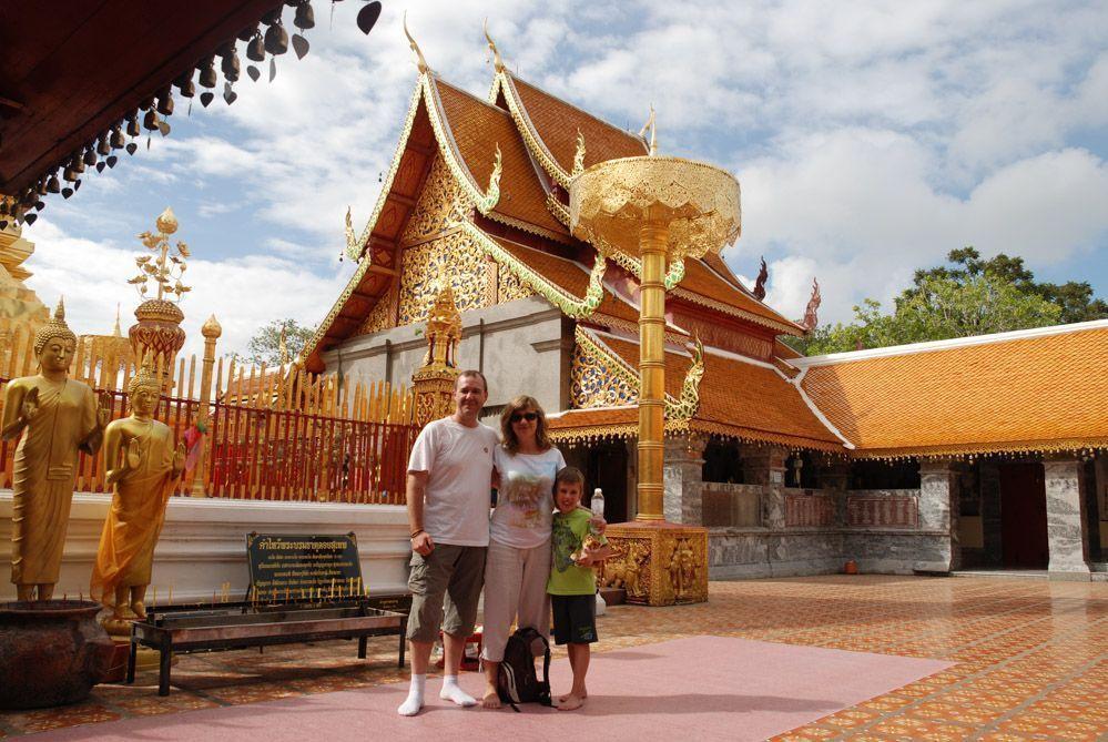 Templo Doi Suthep de Chiang Mai