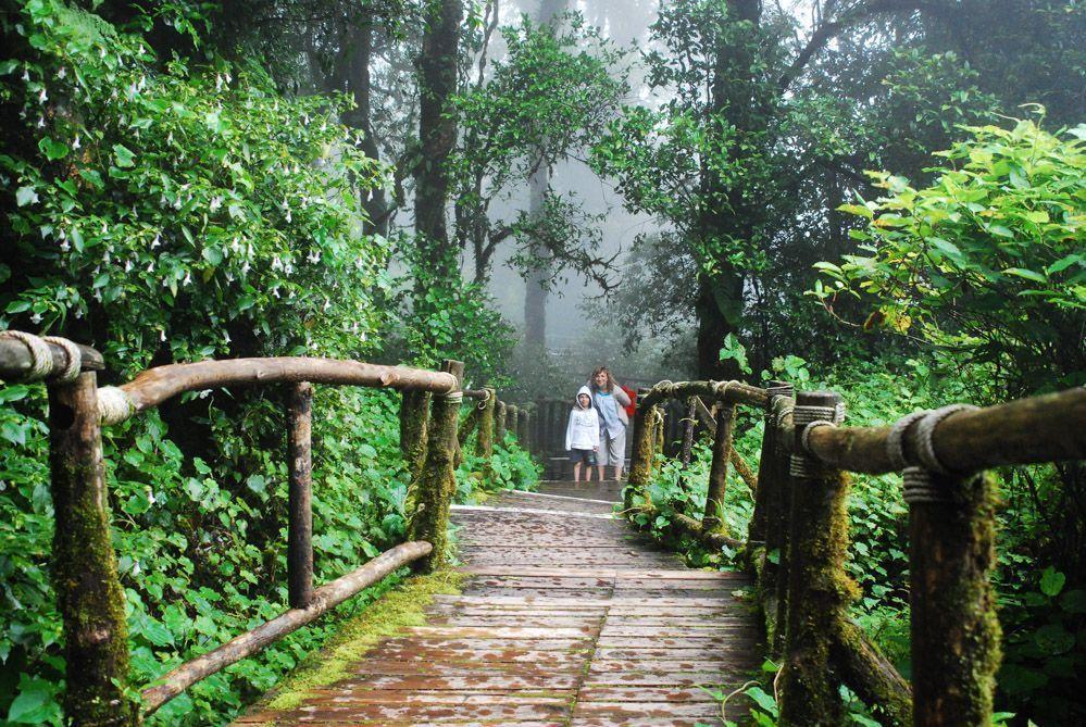 el parque nacional de Doi Inthanon