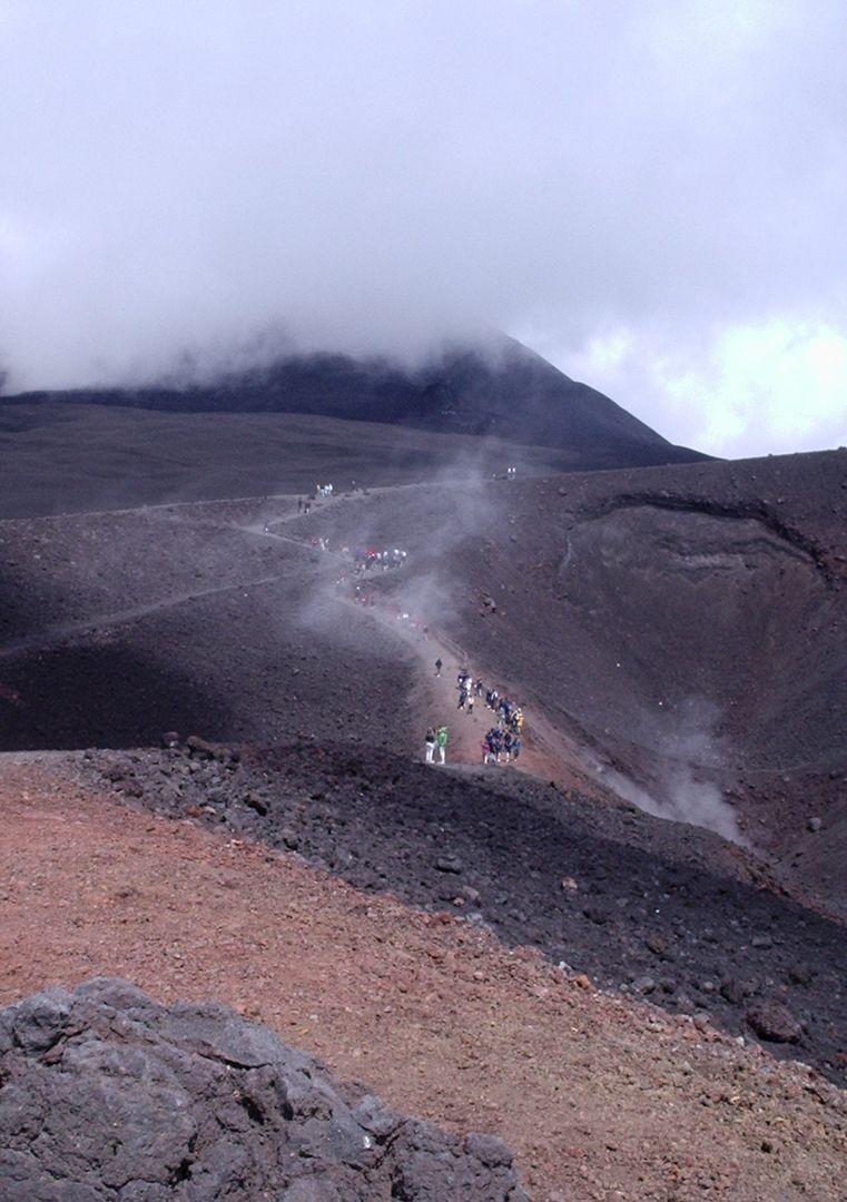subida-al-volcán-Etna
