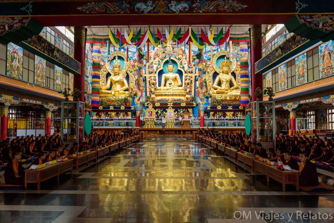 El Monasterio de Oro de Namdroling