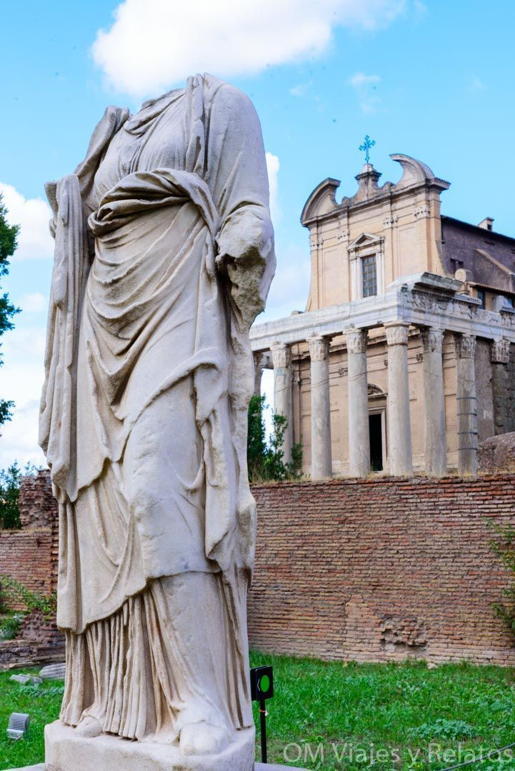 Templo-de-Antonio-y-Faustina-fin-de-semana-en-Roma