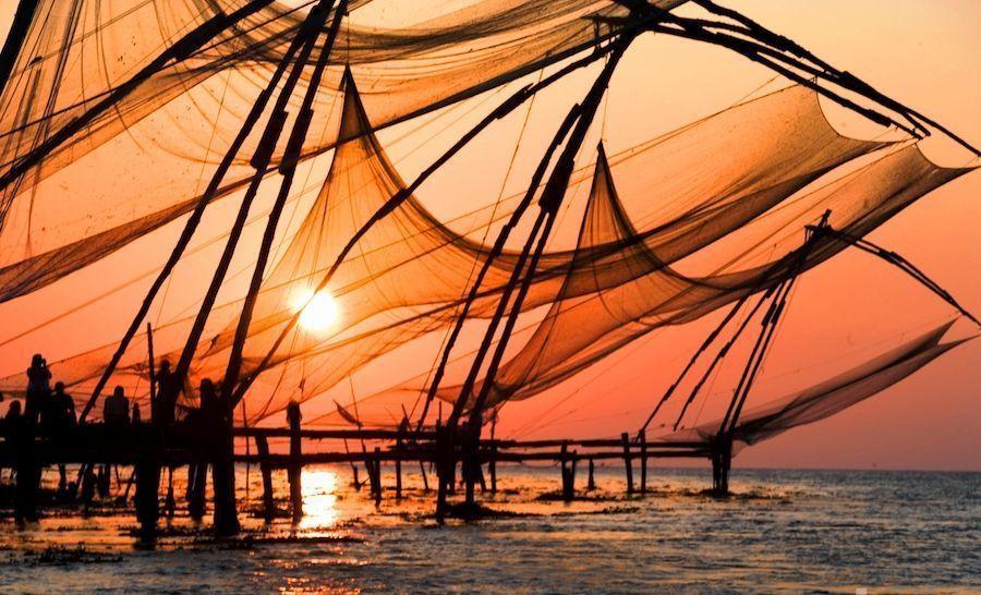 redes-chinas-fort-kochi-Kerala