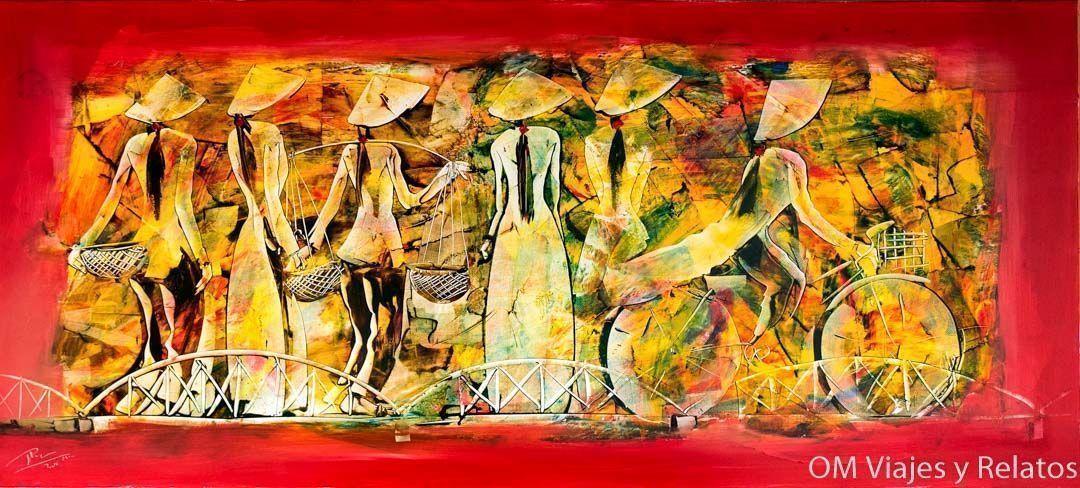 Hue-cuadros-pinturas-y-fotografías-de-paisajes-de-Vietnam