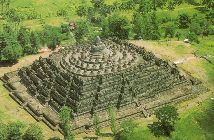 el-templo-budista-de-Borobudur-en-Java