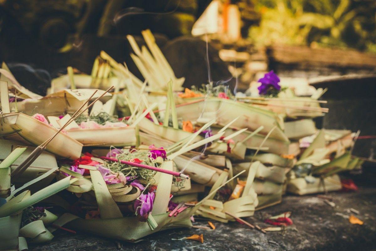 que-ver-en-Bali-ofrendas