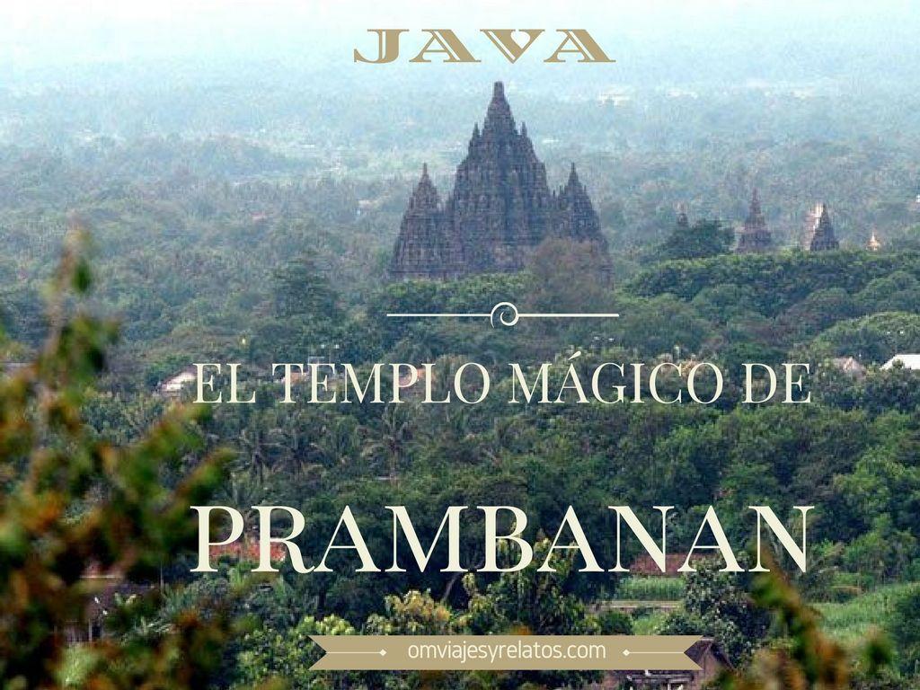 el templo de Prambanan