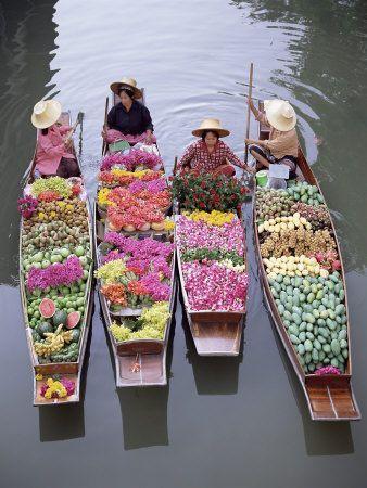 mercado-flotante-Bangkok
