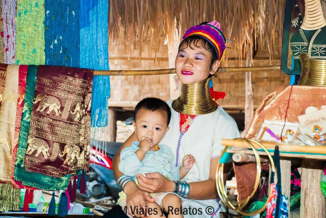 mujeres-jirafa-norte-Tailandia
