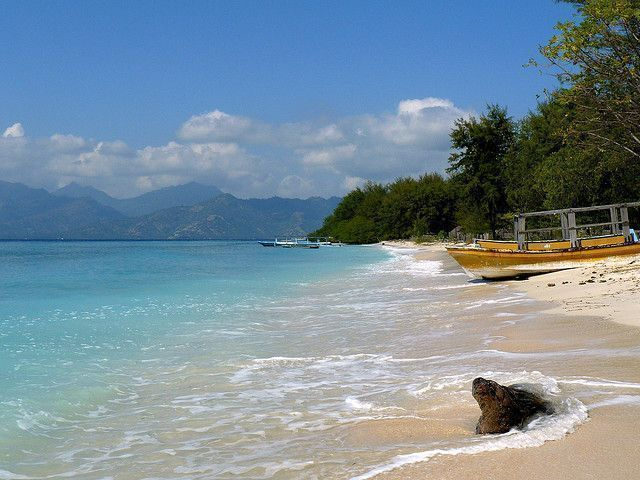 Gili-Air-beach