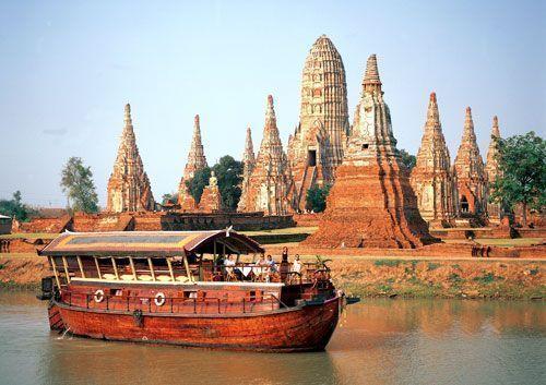 ayutthaya-cruise-tour-Ayutthaya-crucero-Bangkok