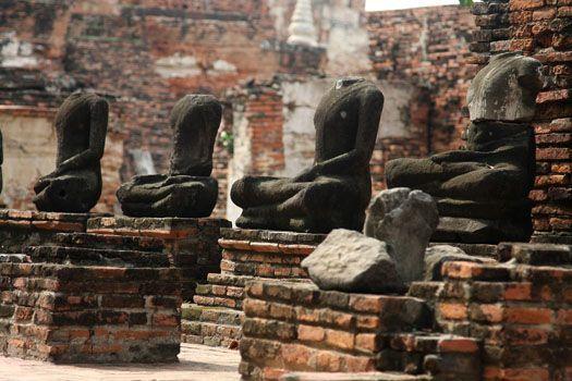 Ruinas-Ayutthaya-capital-Siam-Tailandia