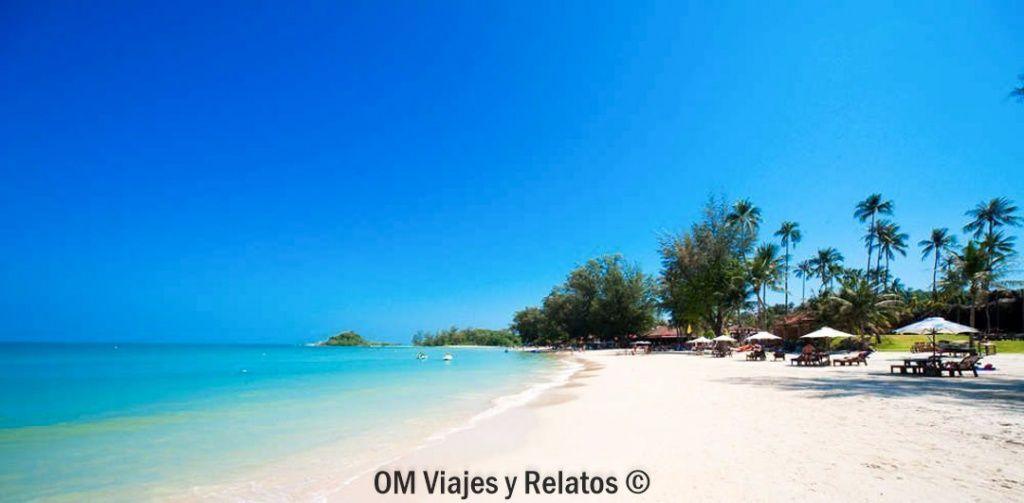 playas Koh Samui: CHOENG MON BEACH