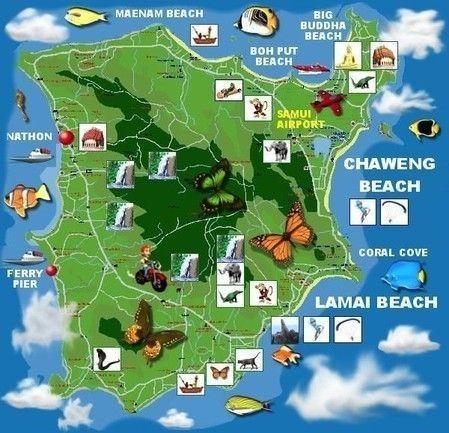 mapa-Koh-Samui