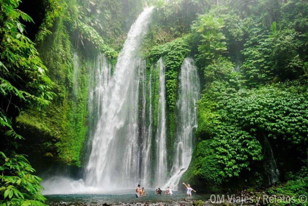 que-ver-en-Lombok-cataratas
