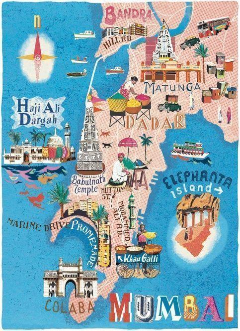 Bombay-mapa
