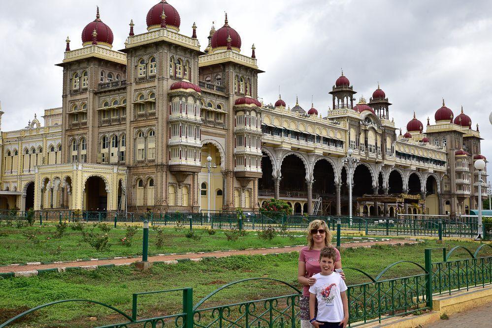 Palacio-de-Mysore-en-India