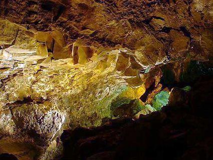La cueva de Los Verdes en Lanzarote