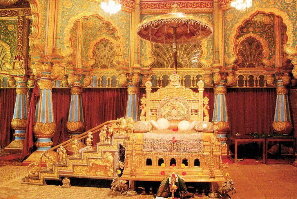 Mysore-Palacio-Trono-de-Oro