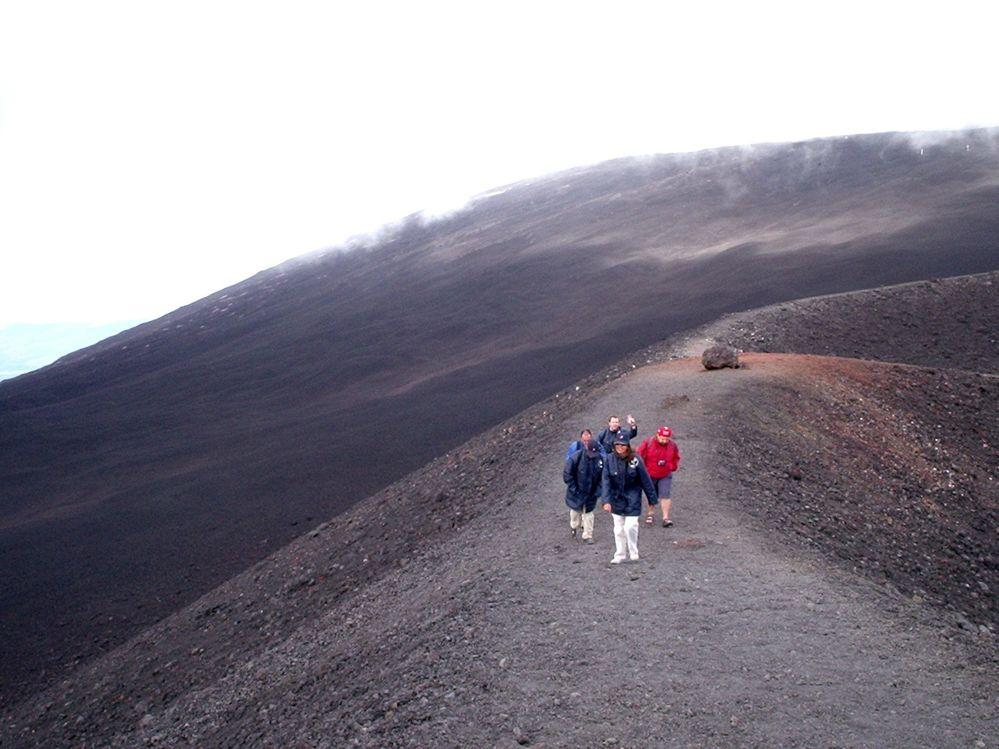 ascenso-volcán-Etna