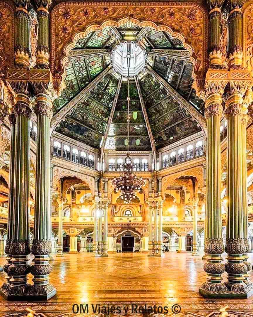 Palacio-de-Mysore-Salón-de-Bodas