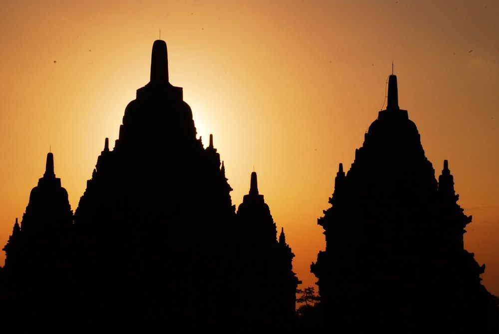 atardecer-templos-de-Java
