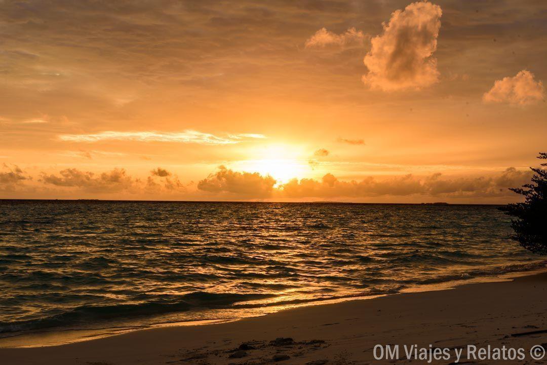 Maldivas-sunset