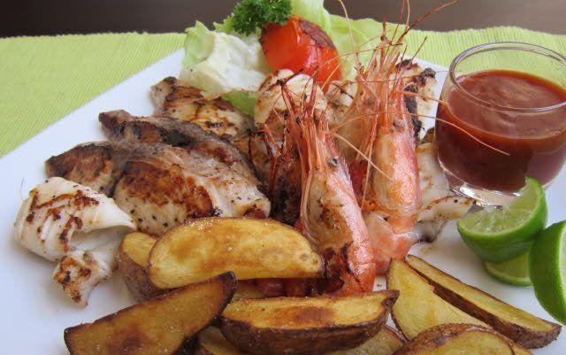 gastronomía-Maldivas
