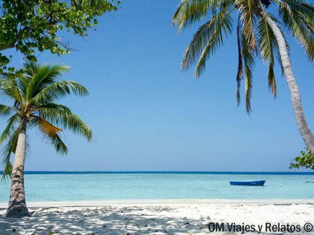 Playa de la isla de Gulhi.