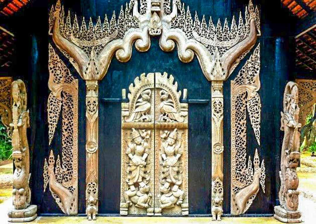 templo-negro-Chiang-Rai