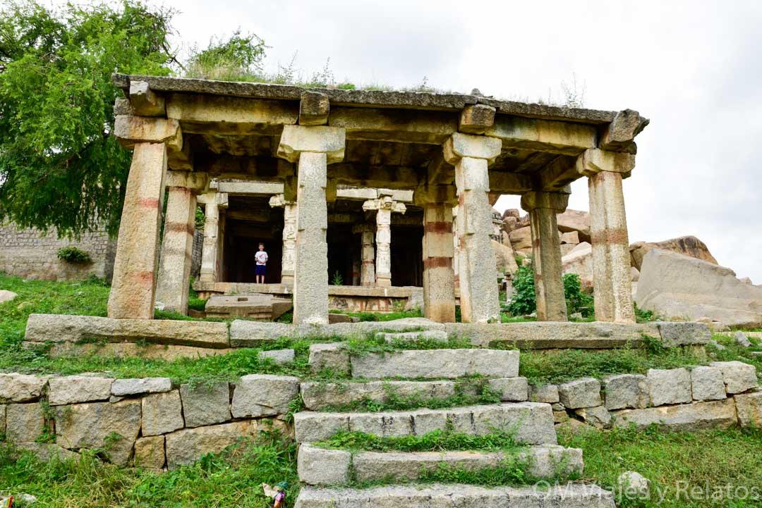 los monumentos de Hampi