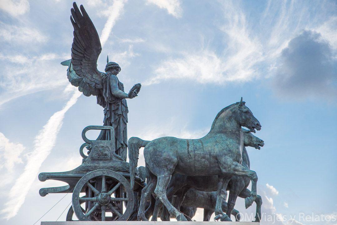 cuádrigas-en-Roma-monumentos
