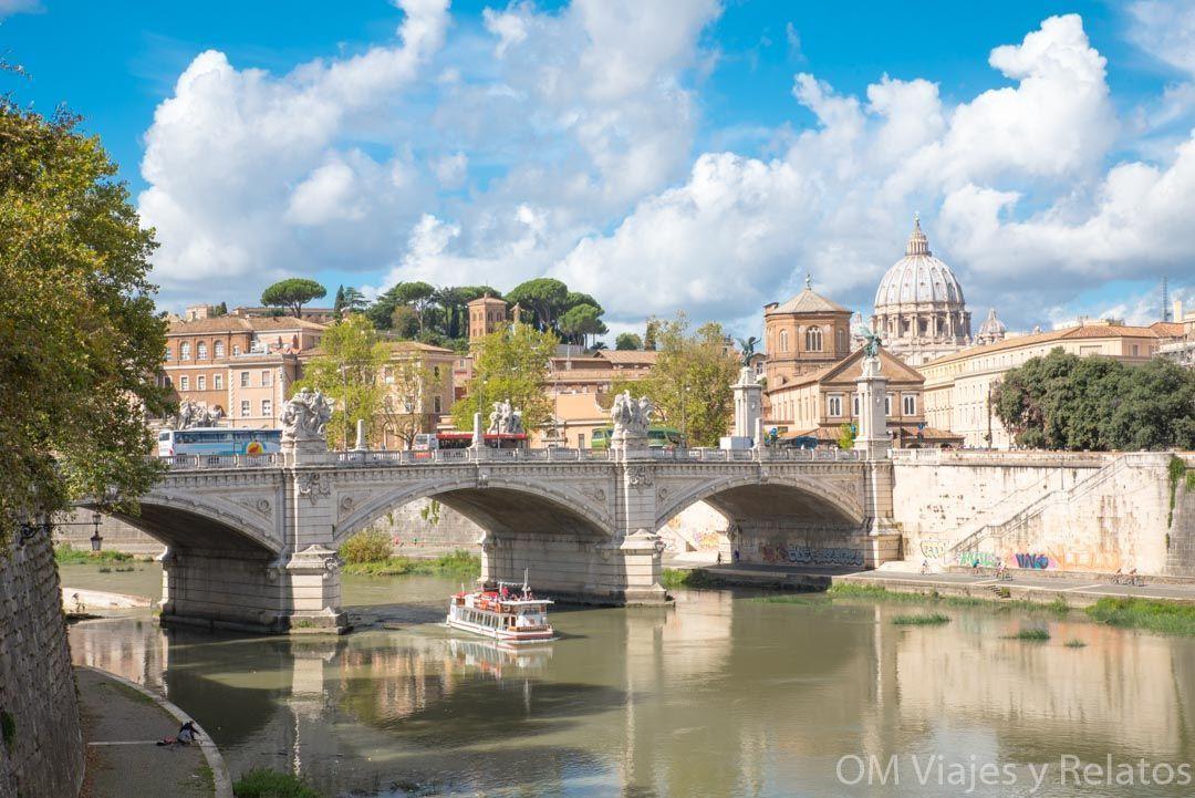 Roma-qué-ver-Puente-de-San-Angelo