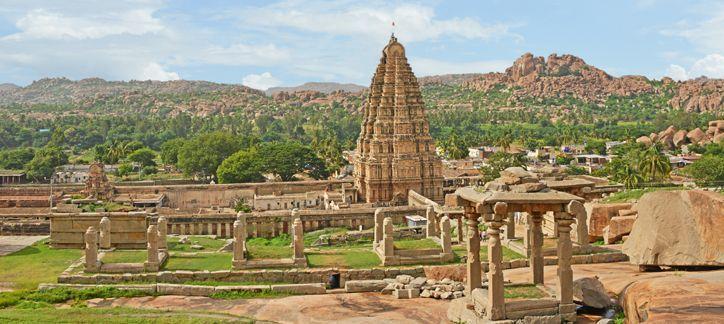 LOS MONUMENTOS DE HAMPI: LAS RUINAS DEL REINO OLVIDADO DEL SUR DE LA INDIA