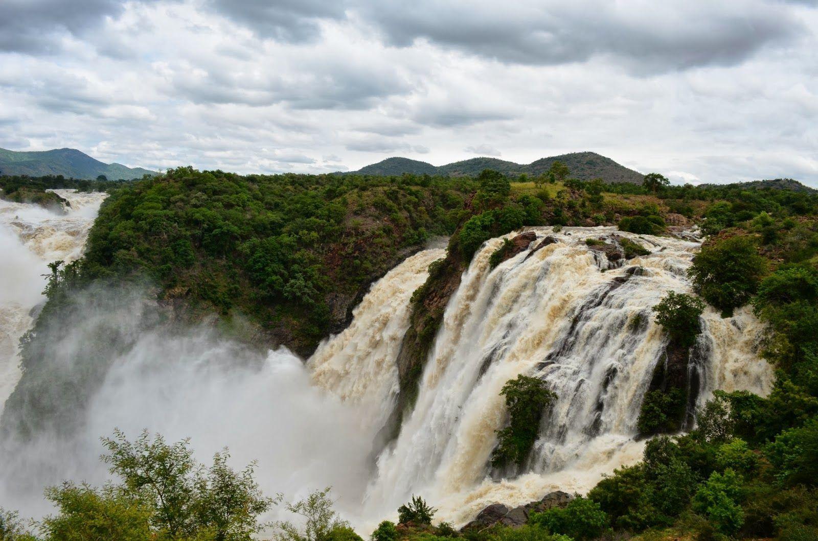 cataratas-de-Shivanasamudra-Mysore