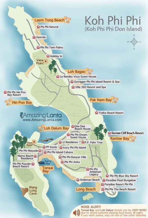 MAPA-playas-TAILANDIA-ISLAS-PHI-PHI