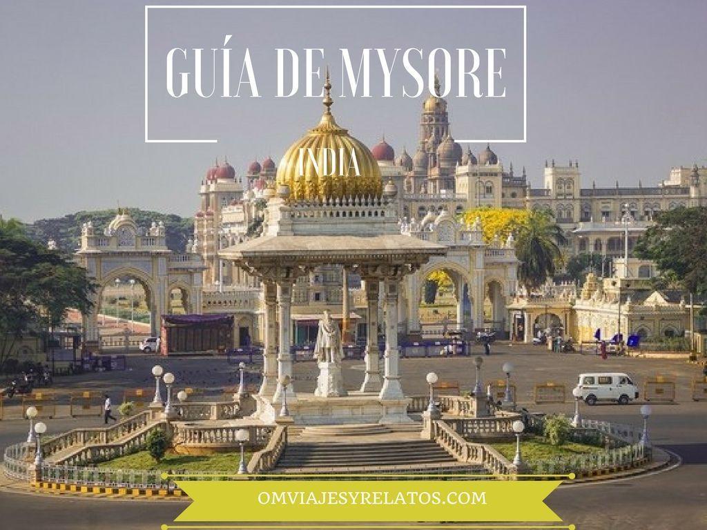 que-ver-en-Mysore-guía-de-Mysore