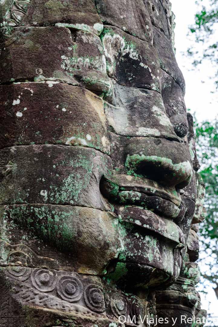 Templo-caras-Bayon-Camboya