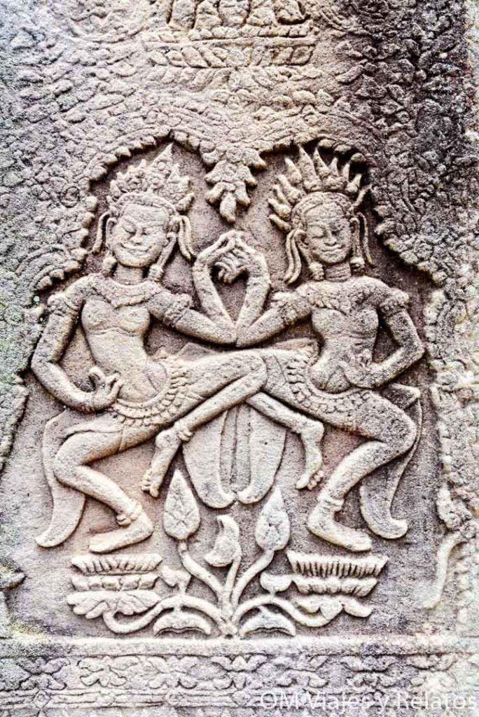 apsaras-ninfas-danzantes-templos-de-Angkor