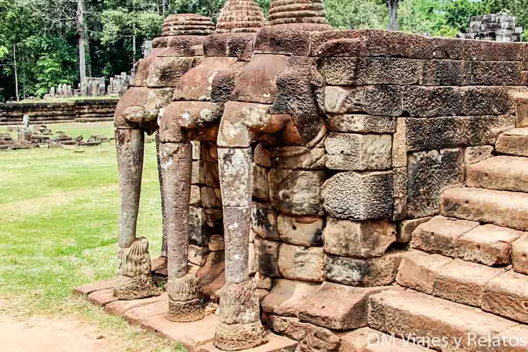 terraza de los elefantes Angkor