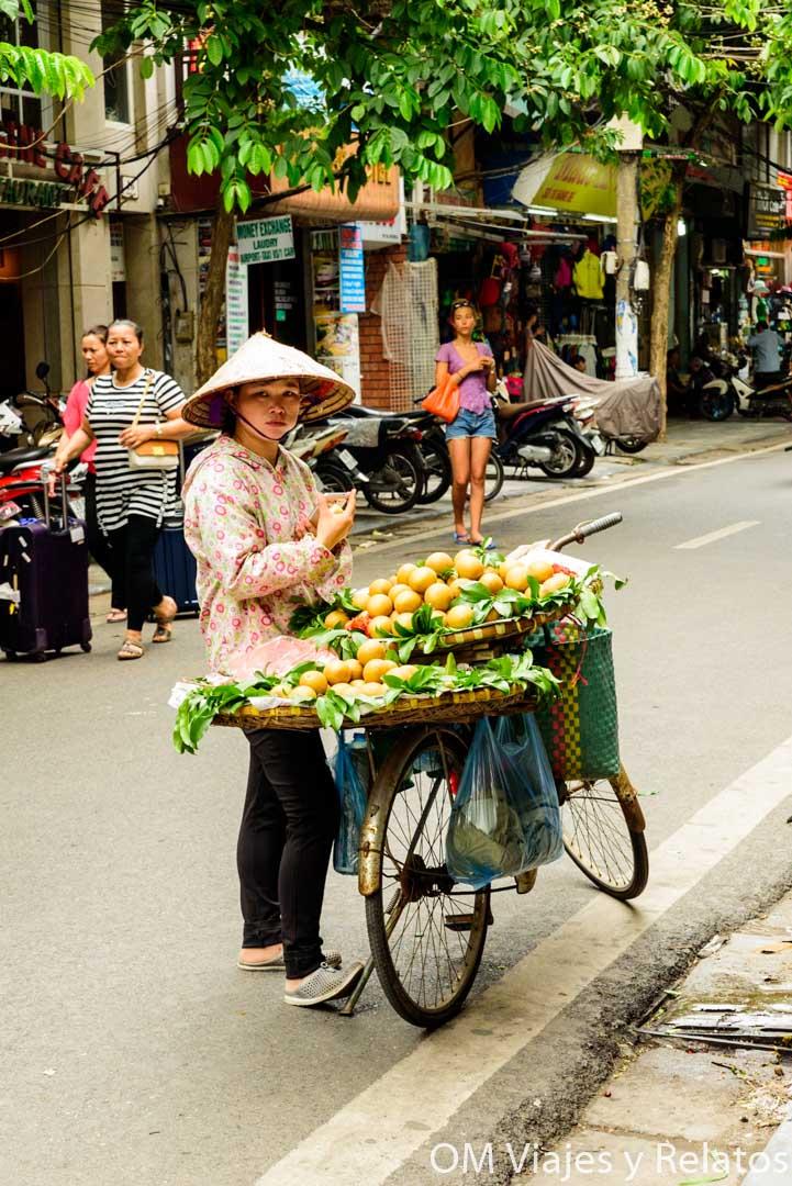 vendedoras de Hanoi