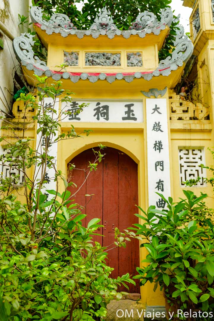 Templos del Old Quarter en Hanoi
