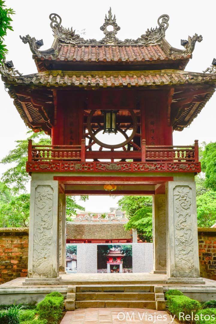 Literature Temple Hanoi