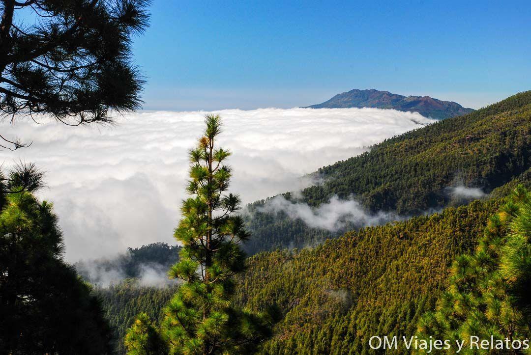 Nubes en la caldera de Taburiente