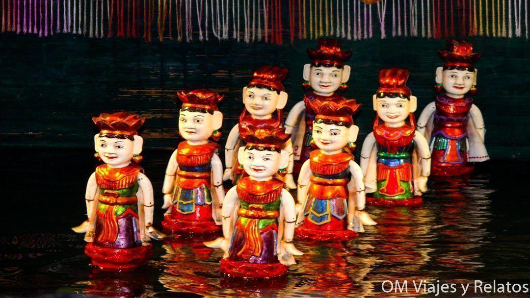 marionetas Vietnam